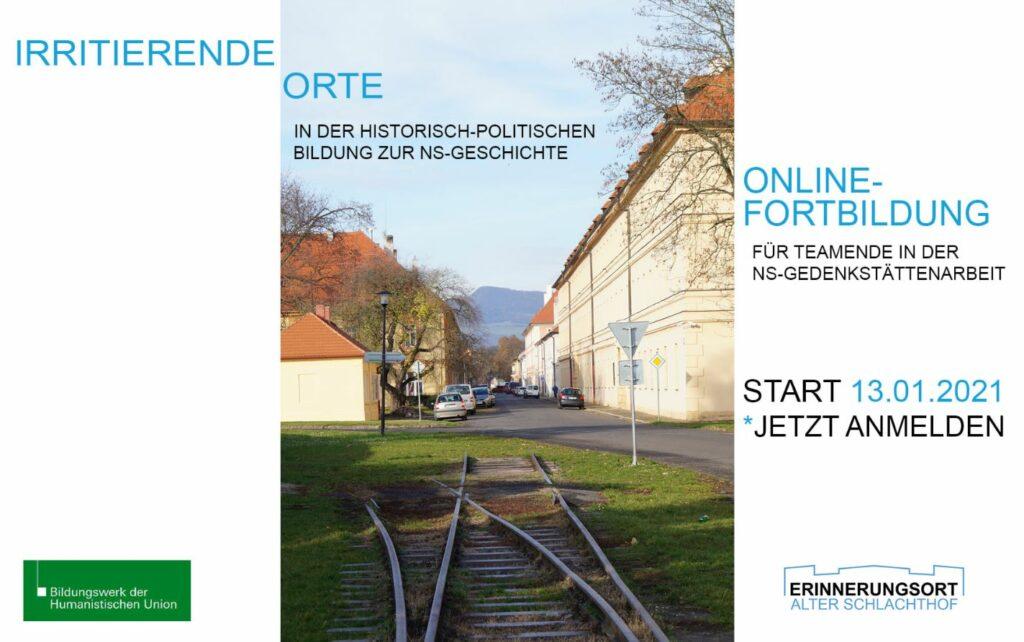 Deckblatt des Veranstaltungsflyers für die Methodenfortbildung in Kooperation mit dem Bildungswerk der Humanistischen Union